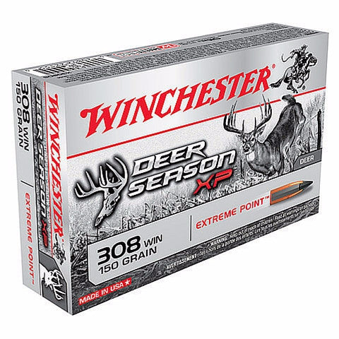 Winchester Deer Season XP 308 Win 150 Gr 20 Round Box