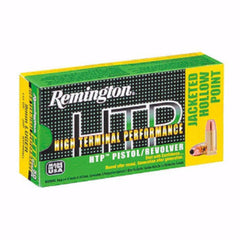 Remington HTP 44 Rem Mag 240 Gr SJHP 50 Round Box