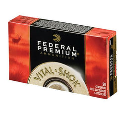 Federal Vital-Shok 30-06 Springfield Trophy Copper 165 GR 20 Round Box P3006TC2