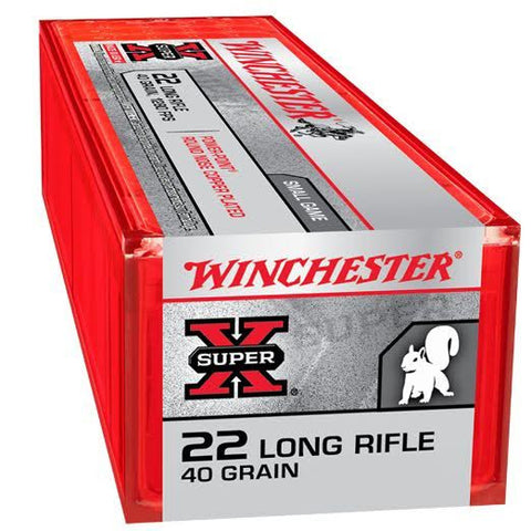 Winchester Super X 22LR 40 Grn CC Hollow Point 100 Rd Box