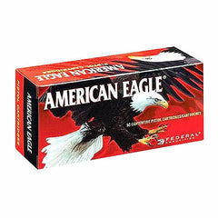 Federal American Eagle 9mm 124 GR FMJ 50 Round Box AE9AP