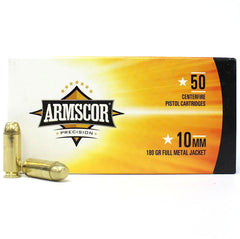 Armscor Precision 10mm 180 Gr FMJ 50 Round Box