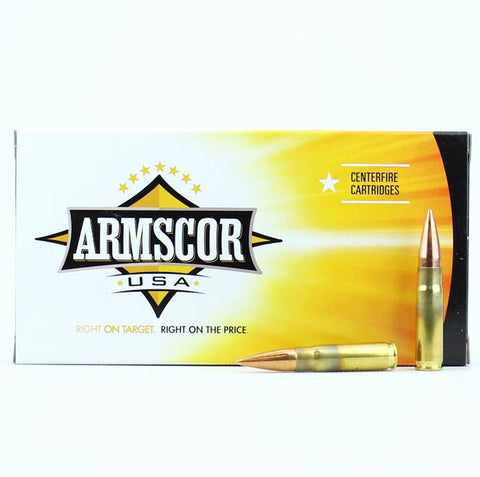 Armscor USA 300 AAC BLK Blackout 147 Grain FMJ 20 Round Box