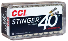 CCI Stinger 22 LR 32 Gr Copper Plated HP (50)
