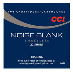 CCI Blank 22 Short 100 Rnd Box NO BULLET