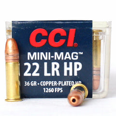 CCI MINI MAG 22 LR 36 Gr CC HP (100)