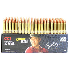 CCI 22 WMR Maxi Mag Troy Landry Choot Em 40 Grain 200 Round Box