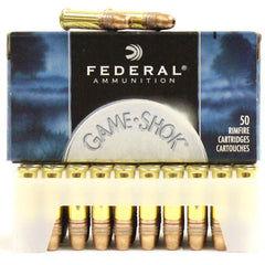 Federal 22 LR 31 Gr Game-Shok Hyper Velocity Copper-Plated HP (50)
