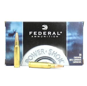 Federal Power Shok 308 (7.62x51) 180 Gr Soft Point 20 Rnd Box