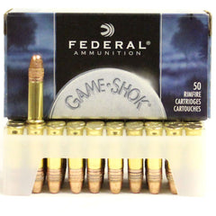 Federal 22 LR 40 Gr 710 Game Shok HV CC RN (50)