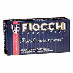 Fiocchi Shooting Dynamics 9MM 115 Grain FMJ 50 Rnd Box