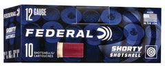 Federal 12 Gauge Shorty Shell 1 3/4 Inch 8 Shot (10)