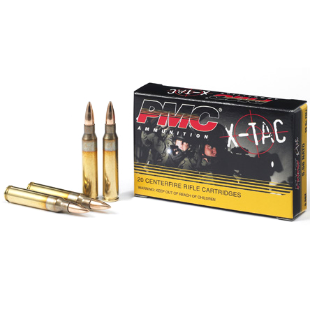 PMC X-TAC 5.56 XP193 55 Grain FMJ 20 Per Box