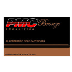 PMC Bronze 308 Winchester 7.62 NATO Full Metal Jacket 147 Gr 20 Round Box