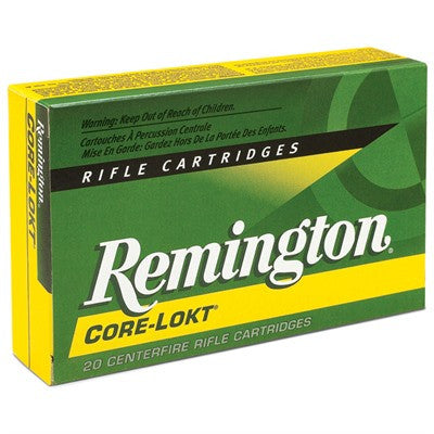 Remington Core-Lokt 25-06 Rem 100gr PSP 20 Round Box