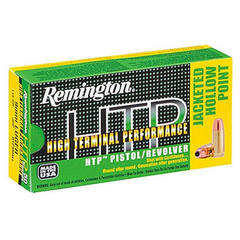 Remington High Terminal Performance HTP 9mm 115 Gr JHP 50 Rnd Box