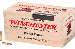 Winchester Super-X 22LR HP 36 GR 500 Round Wooden Box