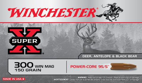 Winchester 300 Win Mag 150 Gr Super-X Power Core (20)
