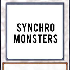 Synchro Monsters