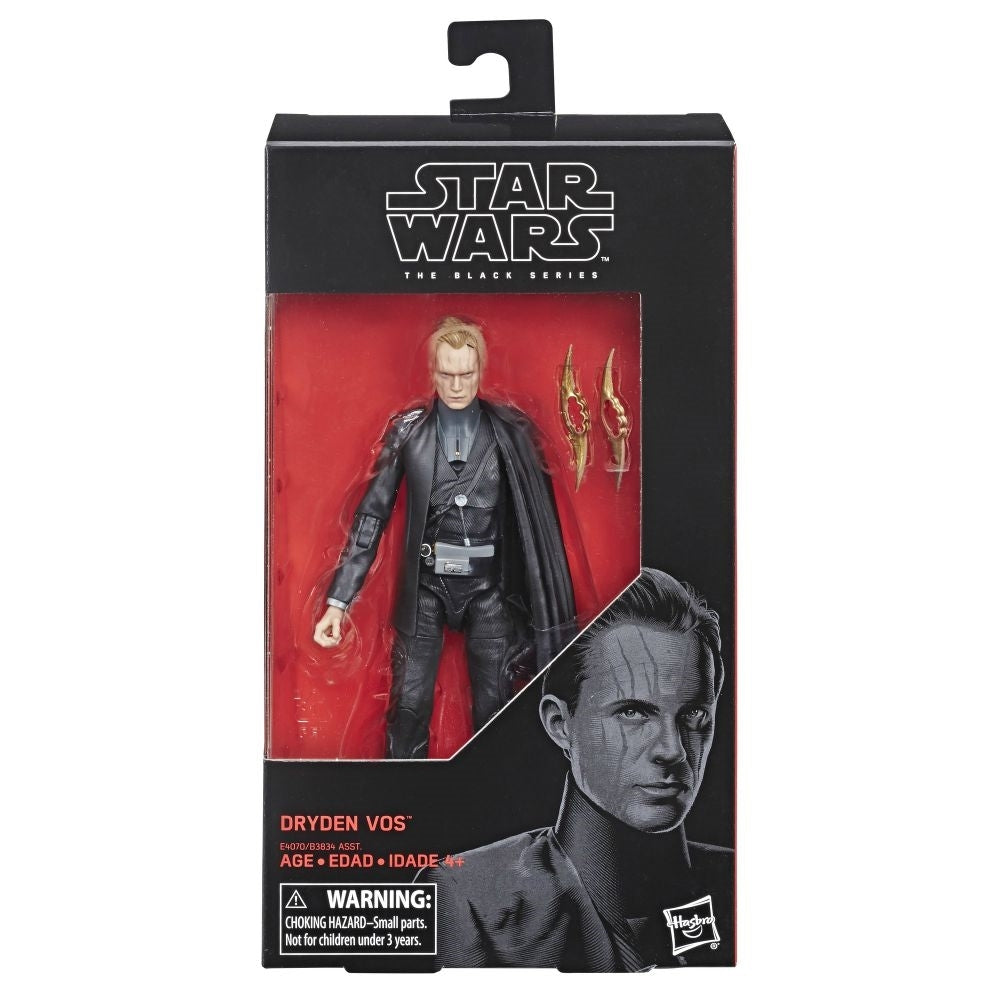 STAR WARS THE BLACK SERIES: DRYDEN VOS HASBRO ACTION FIGURE