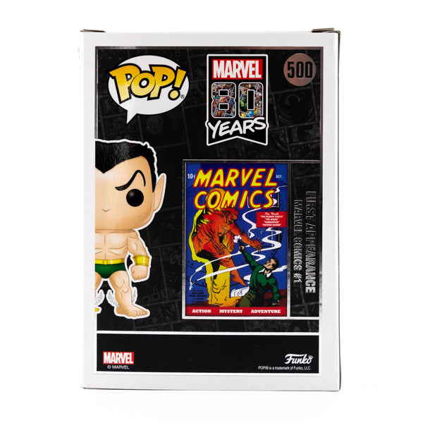 MARVEL 80 YEARS NAMOR THE SUB-MARINER #500 FUNKO POP! VINYL FIGURE