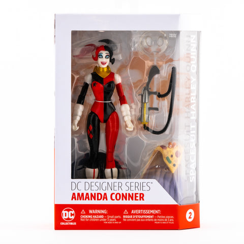 SPACESUIT HARLEY QUINN DESIGNER SERIES AMANDA CONNER DC COLLECTIBLES ACTION FIGURE