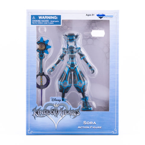 SORA TRON KINGDOM HEARTS DIAMOND SELECT ACTION FIGURE