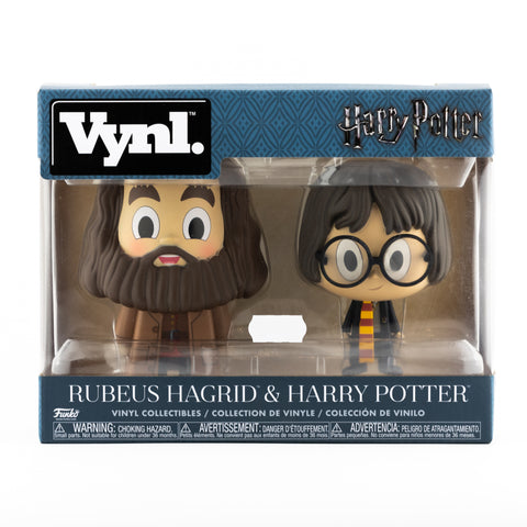 HARRY POTTER AND HAGRID FUNKO VYNL FIGURES