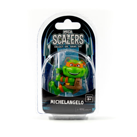 MICHELANGELO TEENAGE MUTANT NINJA TURTLES NECA SCALERS