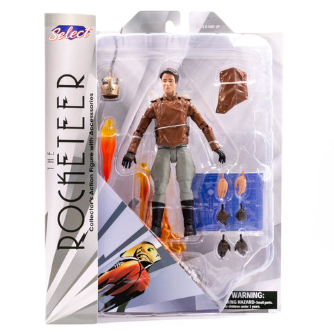 THE ROCKETEER DISNEY CLASSIC DIAMOND SELECT ACTION FIGURE