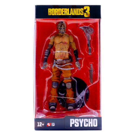 "PSYCHO BORDERLANDS 3 7"" McFARLANE ACTION FIGURE"