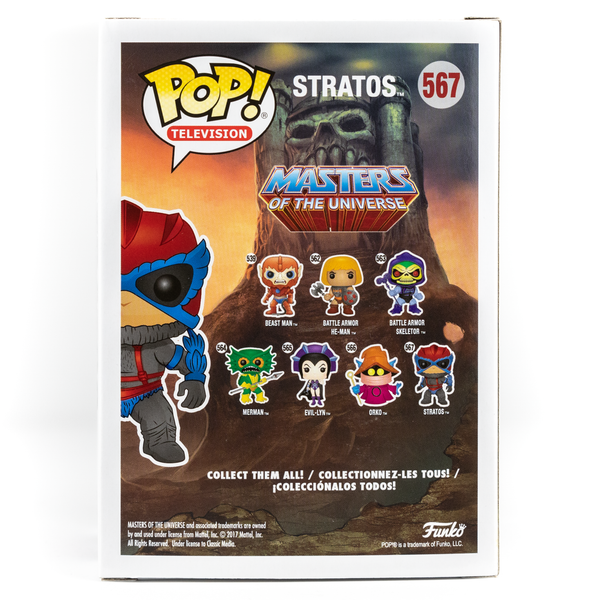 MASTERS OF THE UNIVERSE STRATOS #567 FUNKO POP! VINYL FIGURE