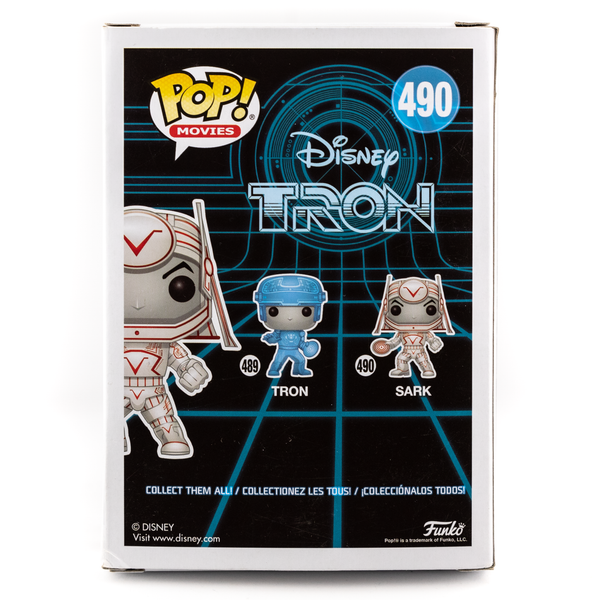 DISNEY TRON SARK (GLOW IN THE DARK) #490 FUNKO POP! VINYL FIGURE