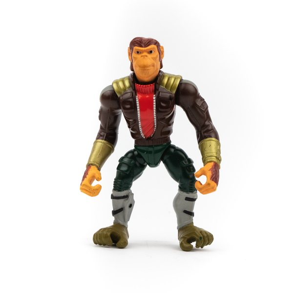 CAPTAIN SIMIAN AND THE SPACE MONKEYS: CAPTAIN SIMIAN MATTEL ACTION FIGURE LOOSE