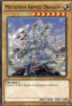 Yu-Gi-Oh! Metaphys Armed Dragon DUEA-EN003