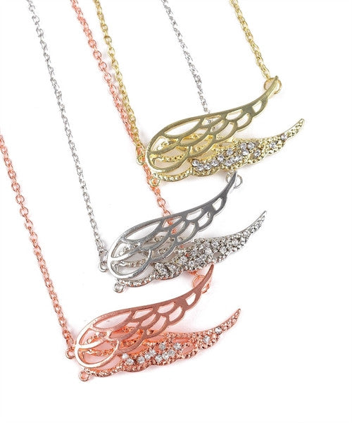 Soaring Wing Necklace Set