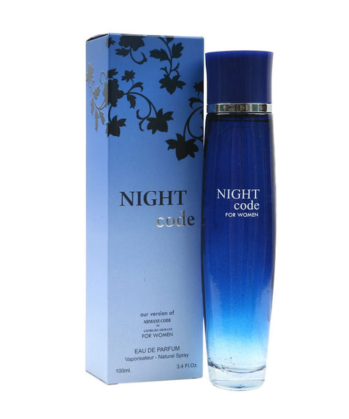 """Night Code"" Fragrance for Women"