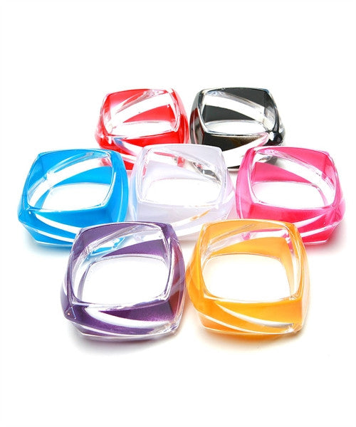 Clear & Color Bangle