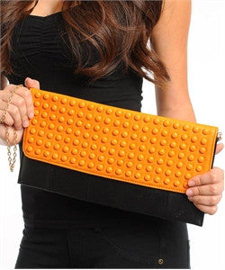 Fashion Clutch with Studs