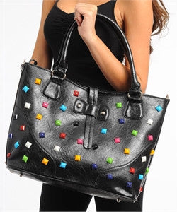 Fashion Studded Handbag