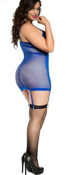 Electric Blue Chemise