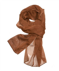 Solid Color Sheer Scarf