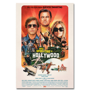 Once Upon a Time in Hollywood - Exclusive Poster
