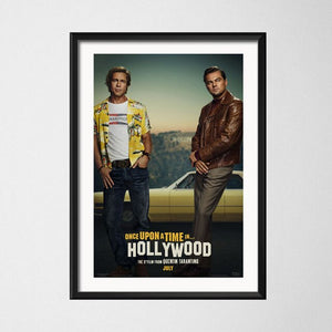 Once Upon a Time in Hollywood  -Poster
