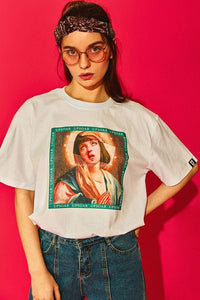 Virgin Mia Pulp Fiction Tee