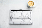 MARBLE WHITE ORTA LAPTOP ÇANTASI