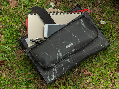 MARBLE BLACK ORTA LAPTOP ÇANTASI