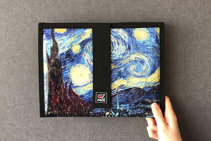 Ozpack Starry Night Tablet Kılıfı Arka