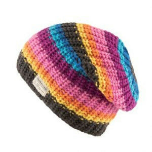 Kusan Floppy Beanie Hat PK1916 Multi-Coloured