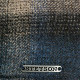 Stetson Camanto Hatteras Wool Bakerboy With Leather Peak